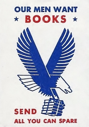 In 1942, the Victory Book Campaign was born.  Librarians across the United States publicized the need for Americans to donate books for the men in the armed services.