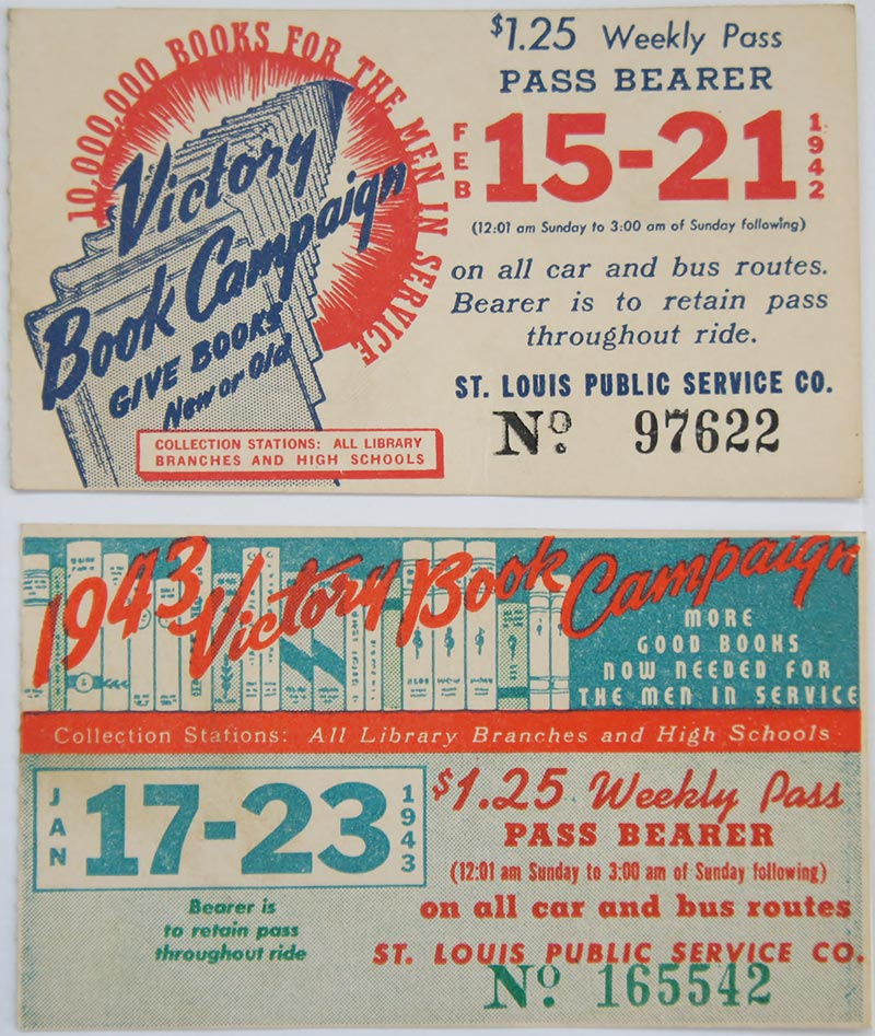 Publicity for the book campaign took many forms.  Posters were hung in stores and train stations, and even bus tickets were redesigned to advertise the campaign.